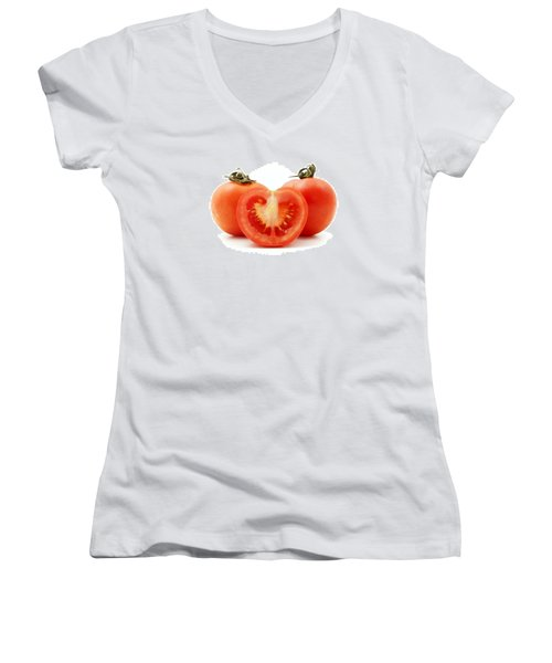 Tomatoes Women's V-Neck