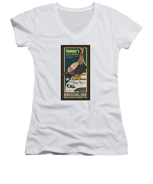 Tommy's Alarms Women's V-Neck
