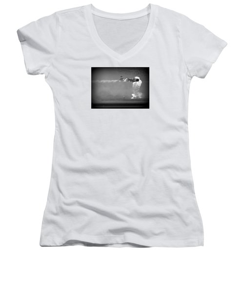 Tora, Tora, Tora At The Reno Air Races Women's V-Neck T-Shirt