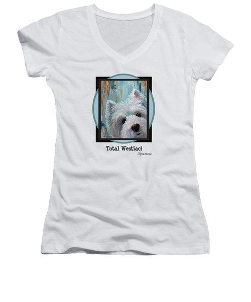 Total Westiac Women's V-Neck T-Shirt
