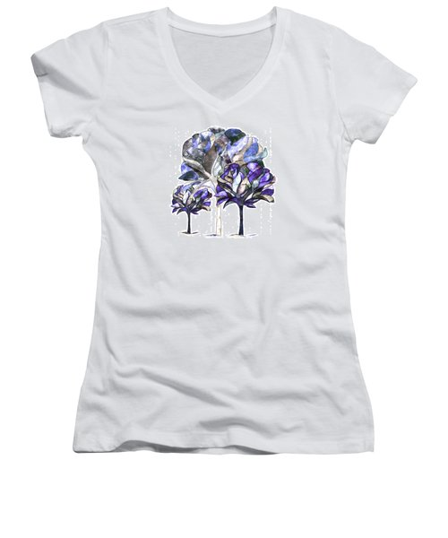 Trees Of Sadness Women's V-Neck (Athletic Fit)