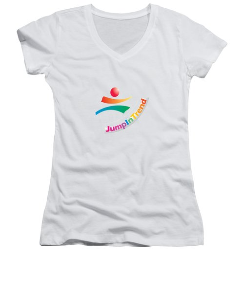 Trendy Women's V-Neck (Athletic Fit)