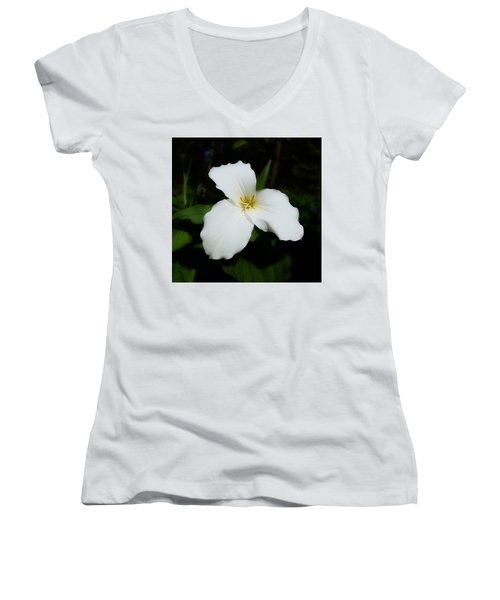 Trillium Women's V-Neck T-Shirt