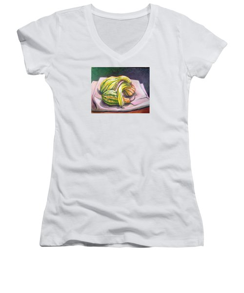 Gourd Grouping Women's V-Neck T-Shirt