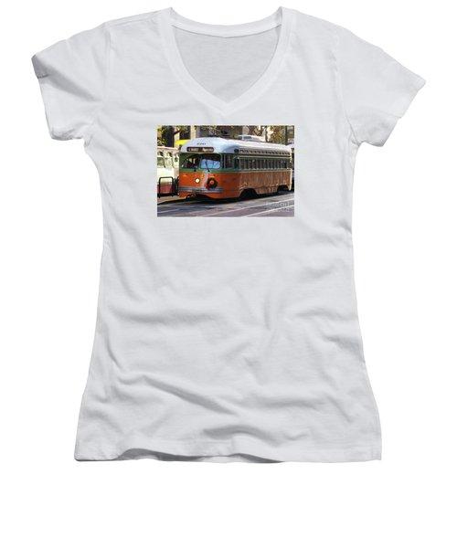 Trolley Number 1080 Women's V-Neck