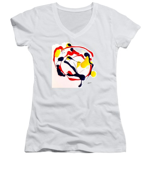 Tropical Fish Women's V-Neck T-Shirt