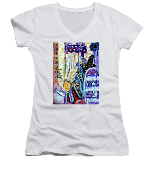 Tropical Waters Women's V-Neck