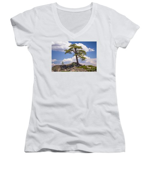 Truckee  Women's V-Neck T-Shirt