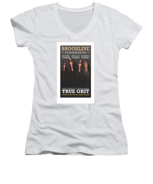 True Grit Women's V-Neck