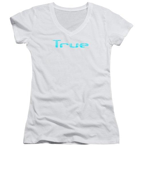 True Three Women's V-Neck