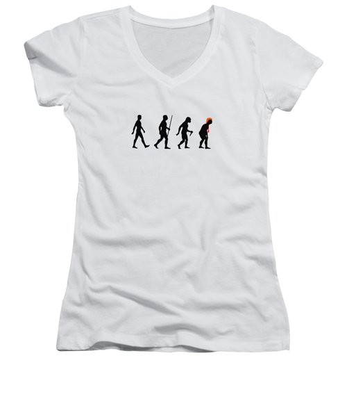 Trumplution Women's V-Neck
