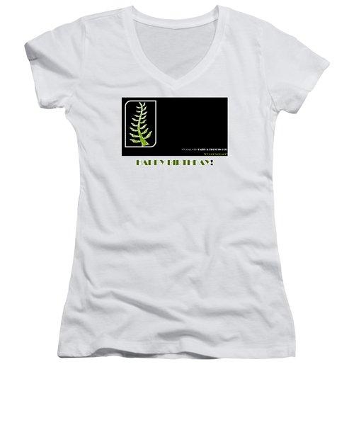 Trust In God Women's V-Neck T-Shirt (Junior Cut)