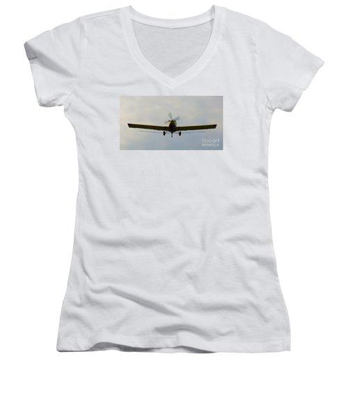 Turbo Thrush 3 Women's V-Neck T-Shirt