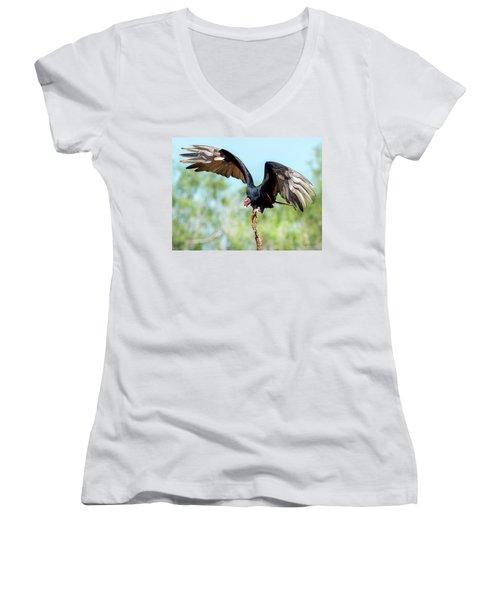 Turkey Vulture Women's V-Neck