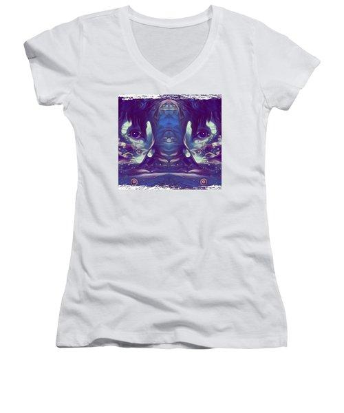 Twins Women's V-Neck T-Shirt