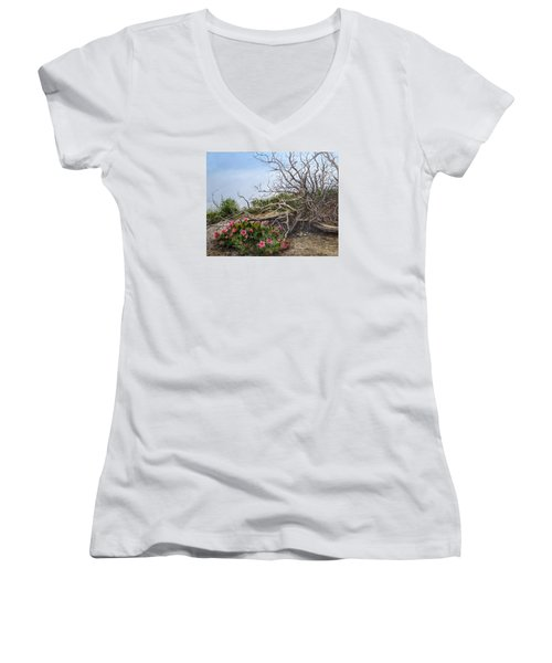 Two Stories Women's V-Neck