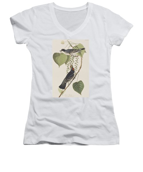 Tyrant Fly Catcher Women's V-Neck (Athletic Fit)