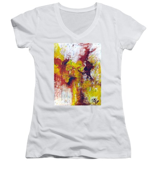 Unafraid Women's V-Neck (Athletic Fit)