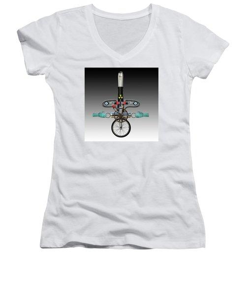 Unanchored Women's V-Neck T-Shirt
