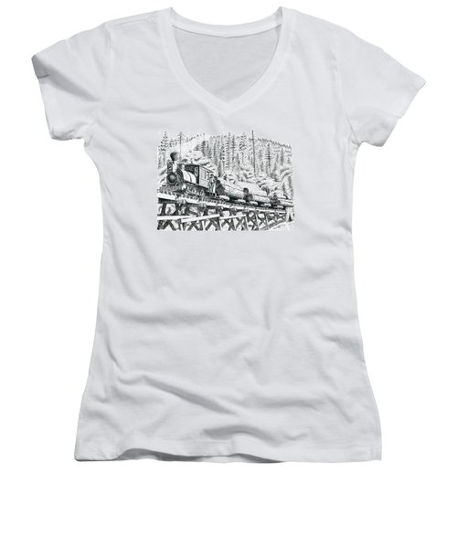 Uncle Sam Women's V-Neck (Athletic Fit)