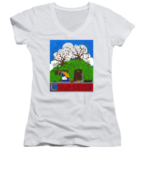 Under The Hill Women's V-Neck (Athletic Fit)