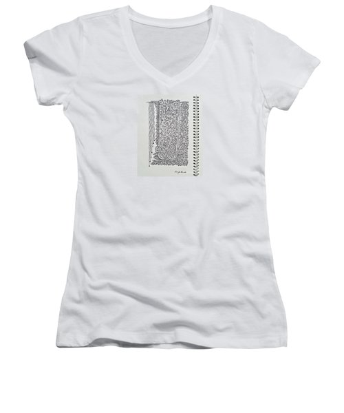 Sound Of Underground Women's V-Neck T-Shirt