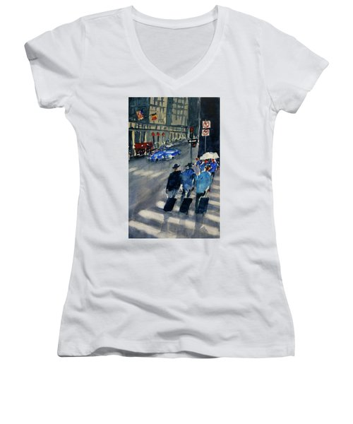 Union Square1 Women's V-Neck T-Shirt