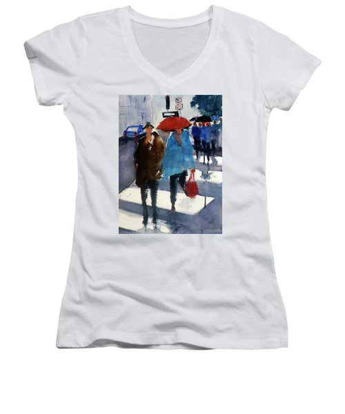 Union Square9 Women's V-Neck T-Shirt
