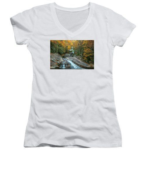 Upper Creek Autumn Paradise Women's V-Neck