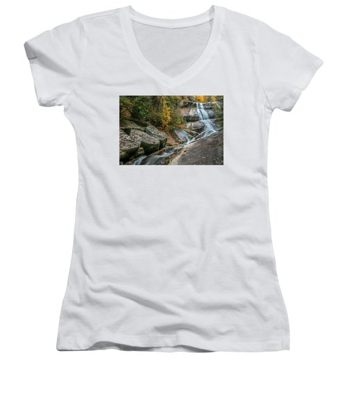 Upper Creek Falls Women's V-Neck