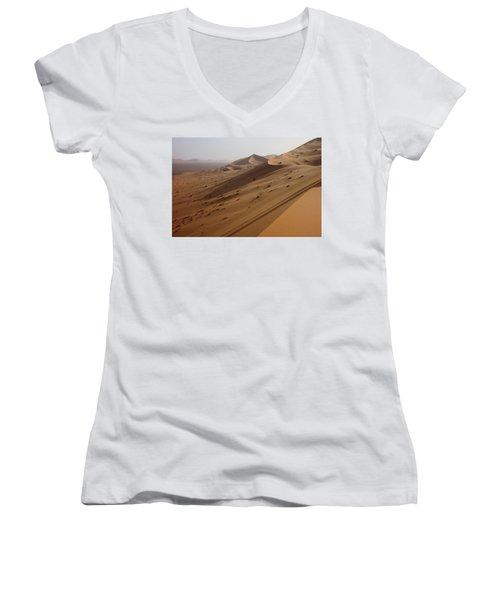 Uruq Bani Ma'arid 4 Women's V-Neck T-Shirt