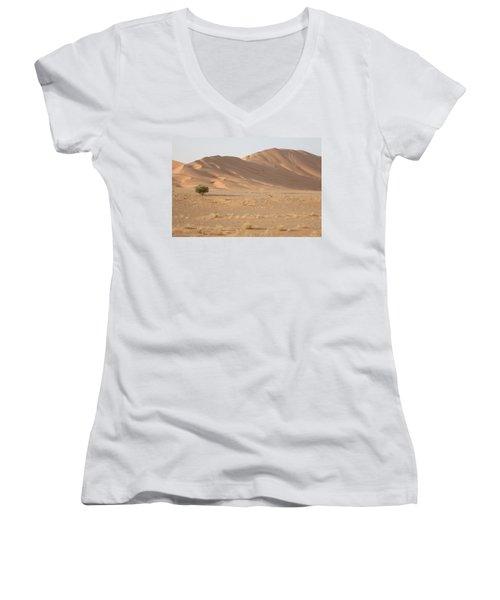 Uruq Bani Ma'arid 5 Women's V-Neck T-Shirt