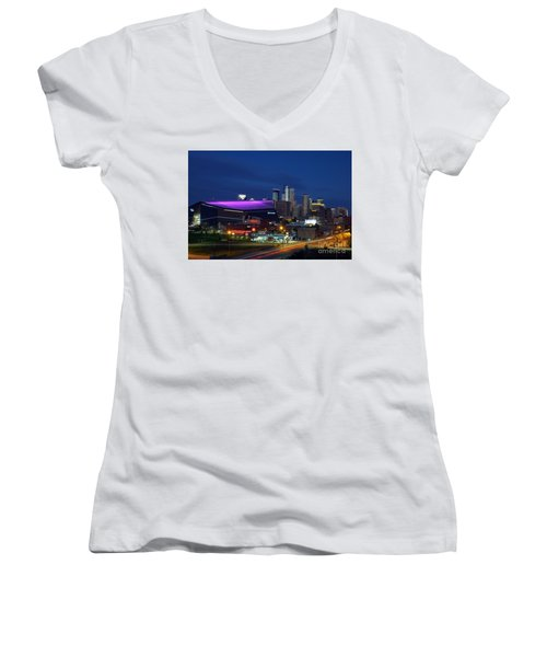 Us Bank Stadium Women's V-Neck