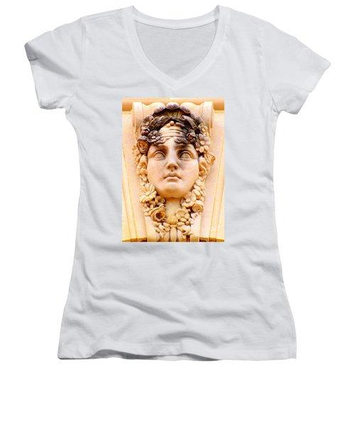 Us Botanical Garden 3 Women's V-Neck T-Shirt