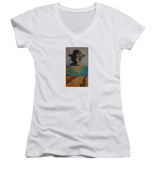 V Ogh 11 Women's V-Neck T-Shirt
