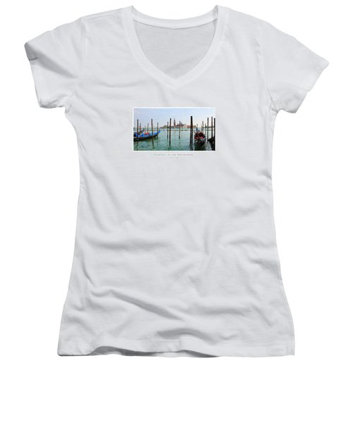 Venetia - At The Waterfront Women's V-Neck