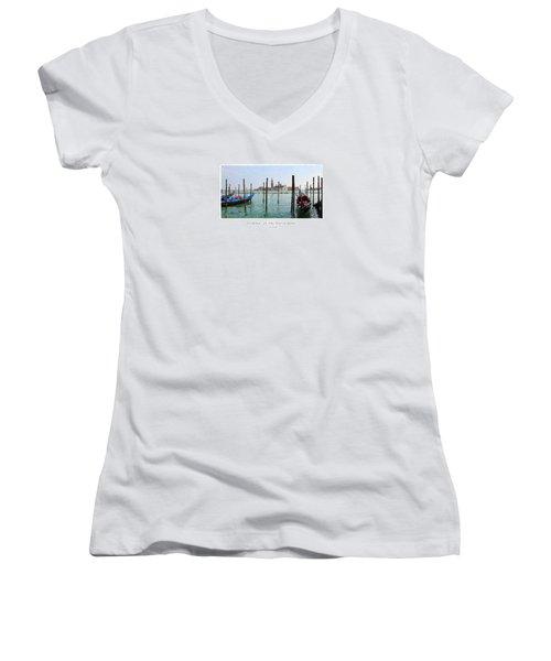 Venetia - At The Waterfront Women's V-Neck