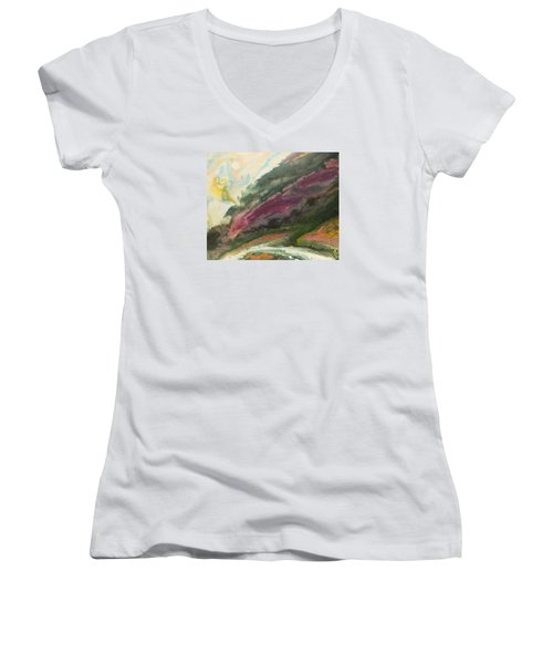 Vers La Tendresse Women's V-Neck T-Shirt