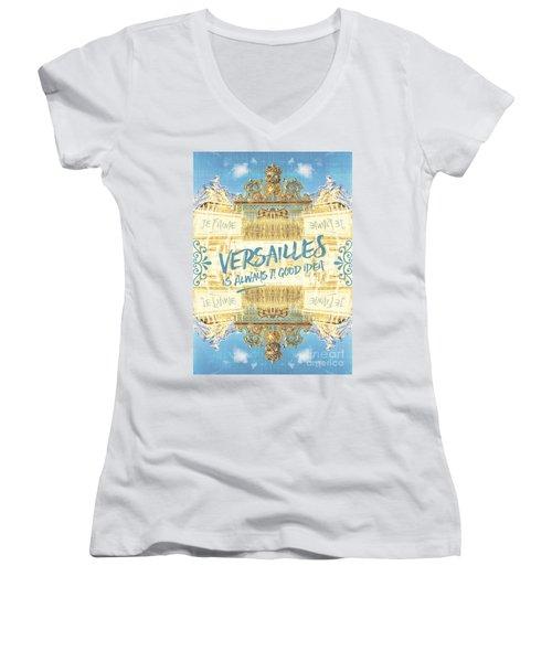 Versailles Is Always A Good Idea Golden Gate Women's V-Neck