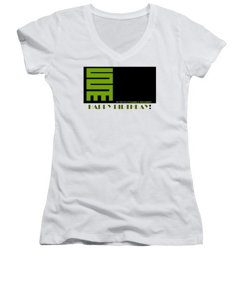 Versatility Women's V-Neck T-Shirt (Junior Cut)
