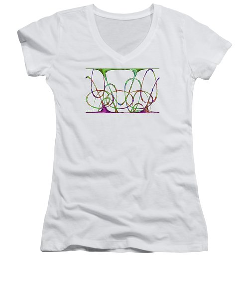 Vibrations Women's V-Neck T-Shirt