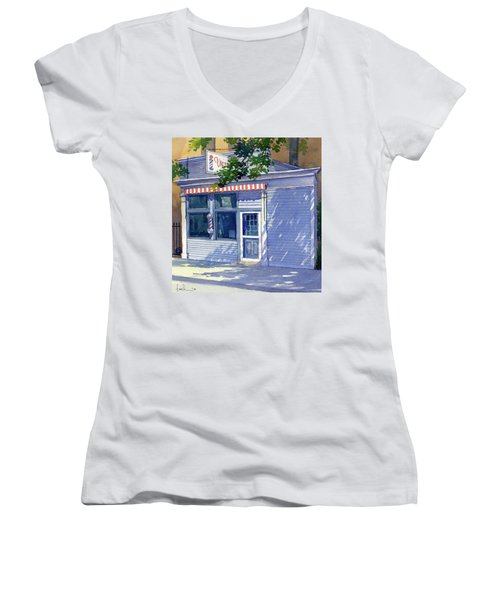 Vic's Barbershop Women's V-Neck