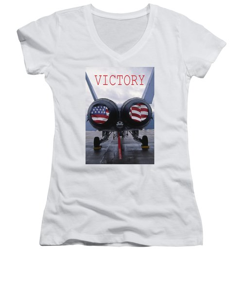 Victory Women's V-Neck (Athletic Fit)