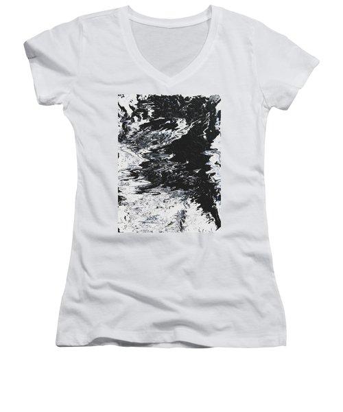 Victory Women's V-Neck T-Shirt (Junior Cut) by Ralph White