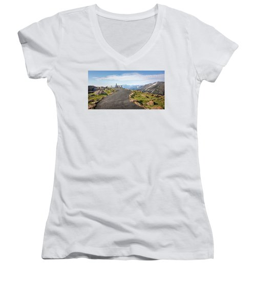 View At The Top Women's V-Neck