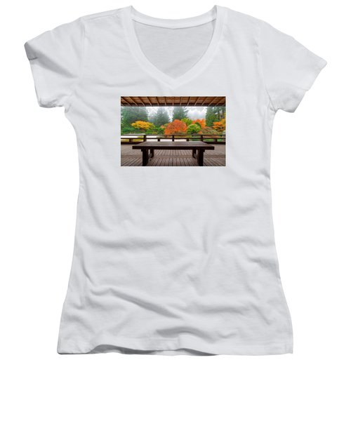View From The Pavilion Women's V-Neck (Athletic Fit)