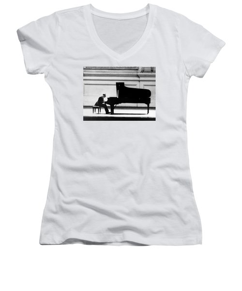 Vladimir Horowitz Women's V-Neck