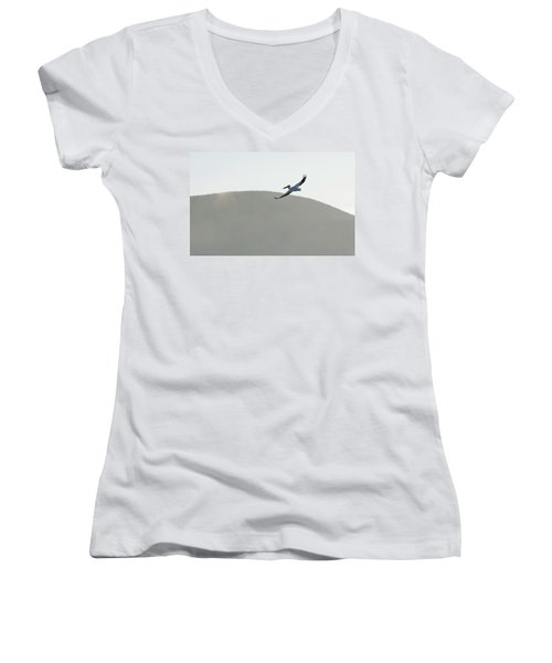 Voyager Women's V-Neck T-Shirt (Junior Cut) by Brian Duram