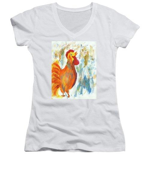 Wake Up Call Women's V-Neck T-Shirt