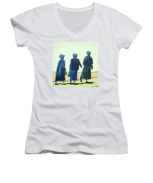 Walking The Walk Women's V-Neck